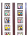 shadow box frame, mcdonalds teddy bear pairs